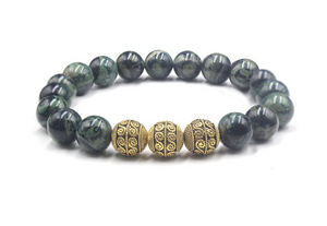 Nephrite jade and Gold