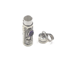 Load image into Gallery viewer, Sterling Silver Perfume Bottle