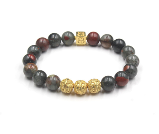 African Bloodstone and Gold