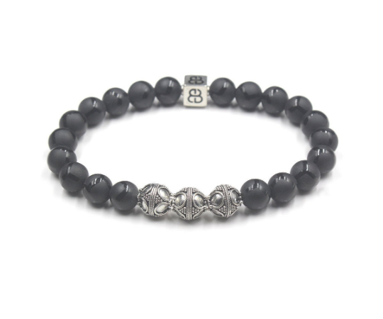 Black Onyx and Silver