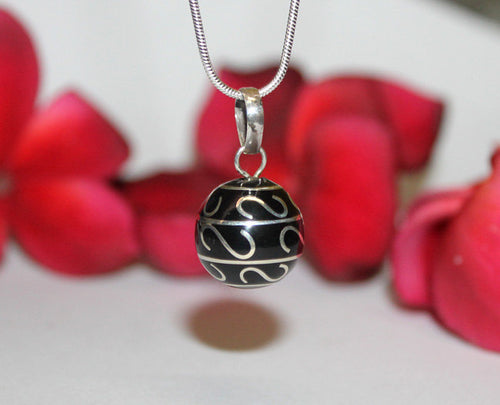 Sterling Silver Chime Ball