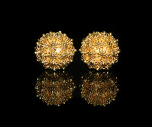 Load image into Gallery viewer, Two 16mm Gold Vermeil Beads