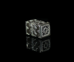 22mm Sterling Silver Bali Bead