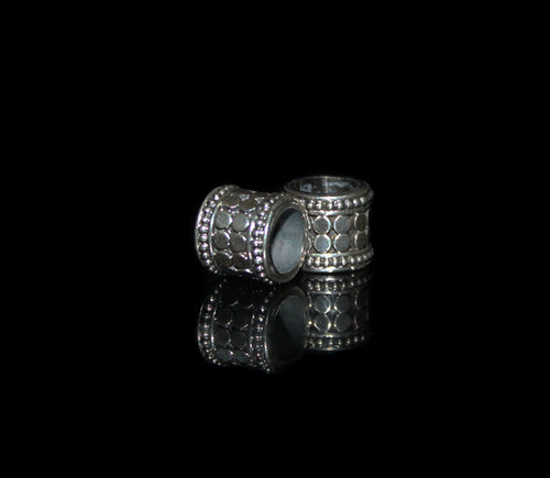 Two 9mm Sterling Silver