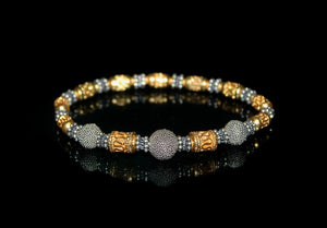 Sterling Silver and Gold Vermeil