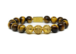 Tigers Eye and Gold