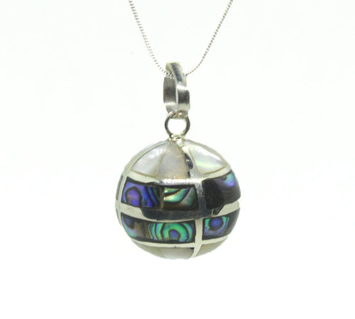 Sterling Silver Abalone