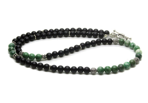 Jade and Black Onyx