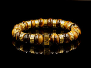 Tiger's Eye and Gold