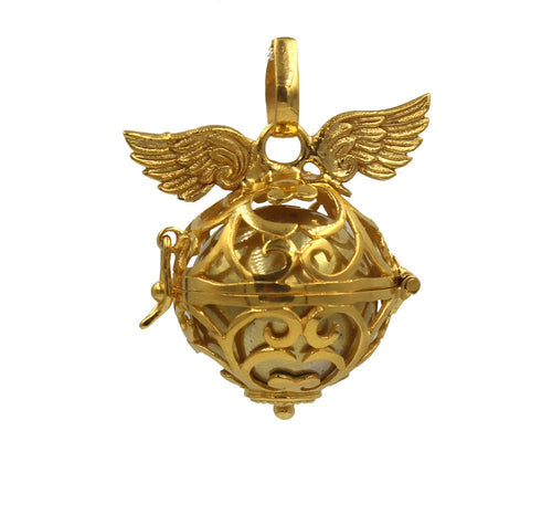 Gold Vermeil Angel Wings
