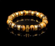 Load image into Gallery viewer, Tiger's Eye and Gold
