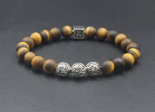 Tigers Eye and Sterling Silver