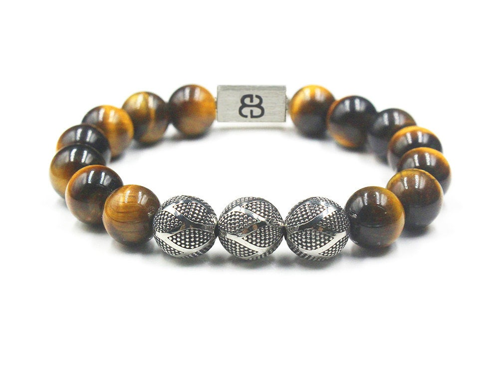 Tiger's Eye and Sterling Silver
