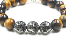 Load image into Gallery viewer, Tiger's Eye and Sterling Silver