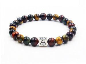 Mixed Tiger's Eye and Silver