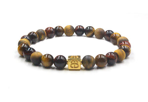 Mixed Tiger's Eye and Gold