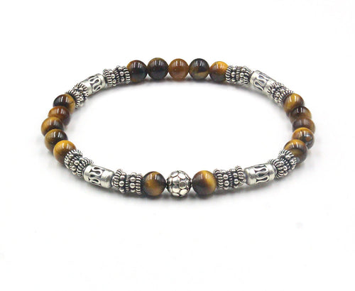 Sterling Silver and Tiger's Eye