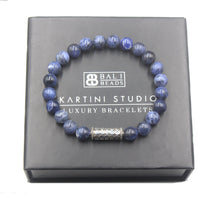 Load image into Gallery viewer, Sodalite and Sterling Silver