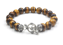 Load image into Gallery viewer, Tiger's Eye and Strerling Silver