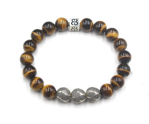 Tiger Eye's and Sterling Silver