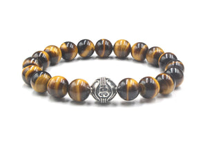 Tiger's Eye and Silver