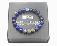Load image into Gallery viewer, Lapis Lazuli and Sterling Silver