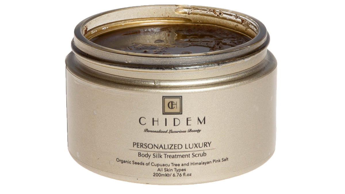 Personalized Beauty Body Silk Treatment Scrub