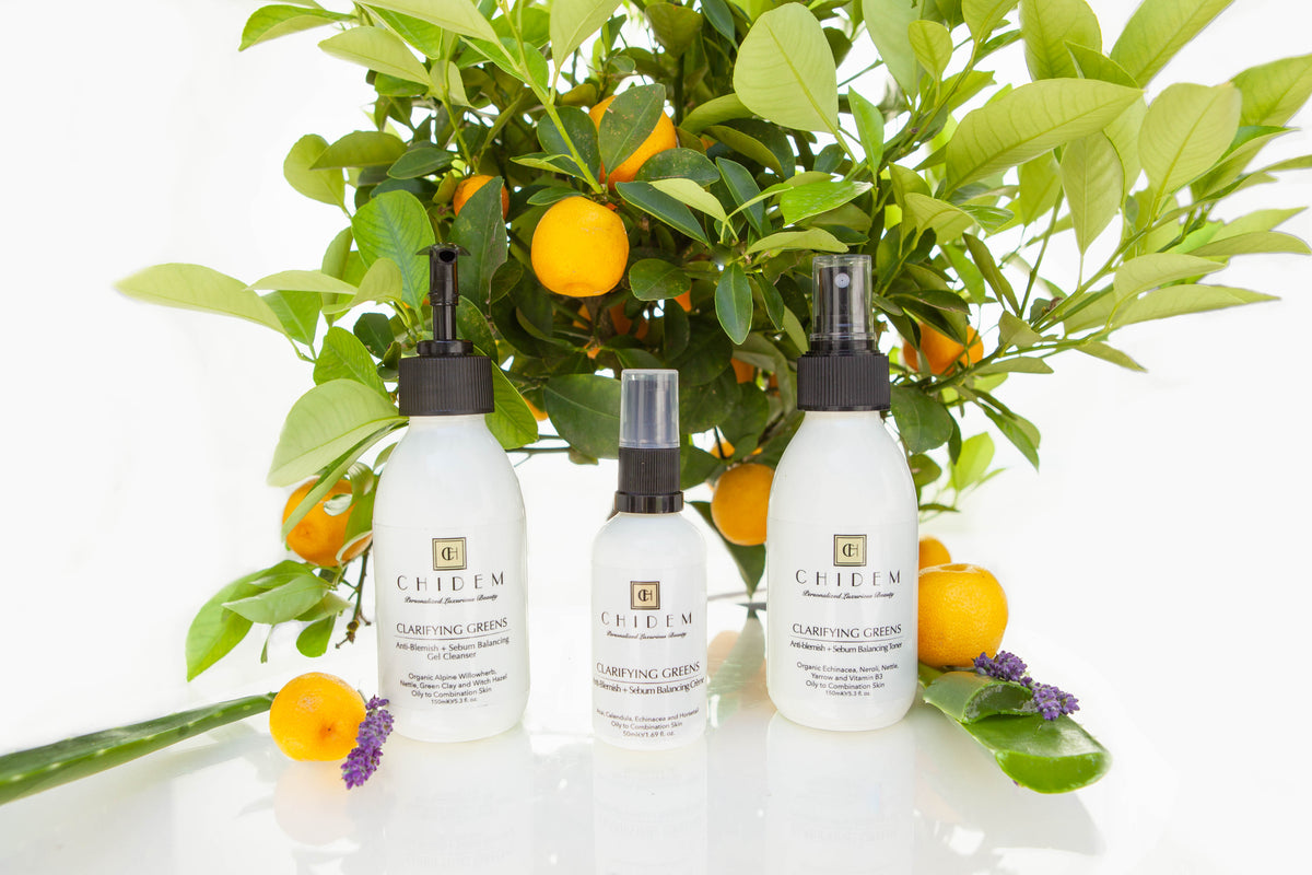Clarifying Greens Skin Care Collection