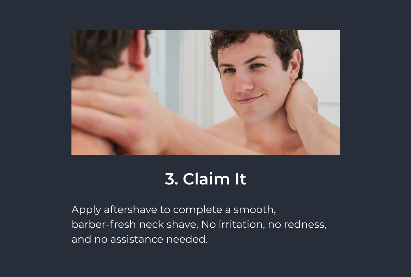 how to use lvl shave co clean neckline claim it