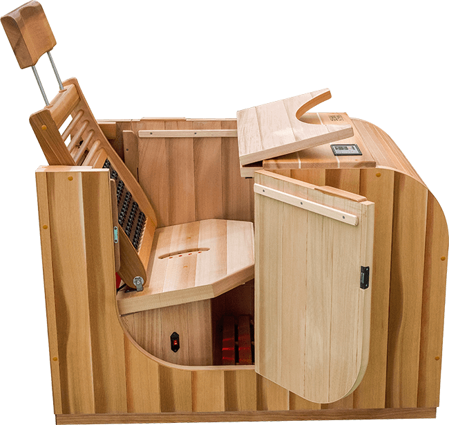 Health Mate Essential Lounge Infrared Sauna - Kaso Saunas