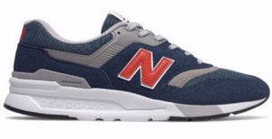 New Balance CM997HAY - Navy/Red