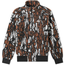 Load image into Gallery viewer, Stussy Tree Bark Fleece Jacket - Brown