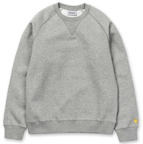 Carhartt WIP Chase Crewneck - Grey Heather