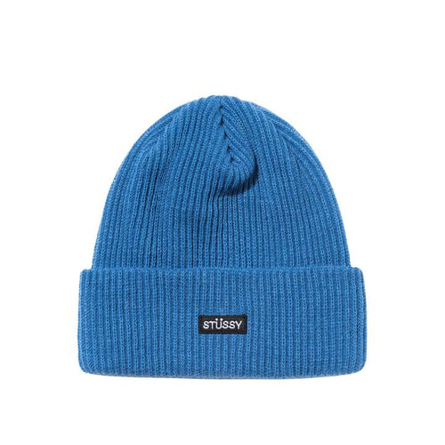 Stussy Small Patch Watch Cap Beanie - Blue FA20