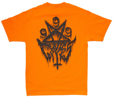 Load image into Gallery viewer, Ninetimes 999 Tee - Orange/Black
