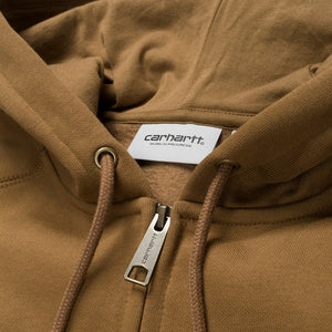 Carhartt WIP Hooded Chase Jacket Hamilton Brown