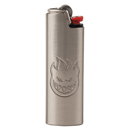 Spitfire Bighead Lighter Cover - Silver