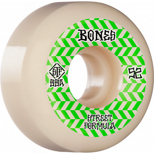 Bones STF Patterns Wheels - 99A 52mm V5 Sidecut
