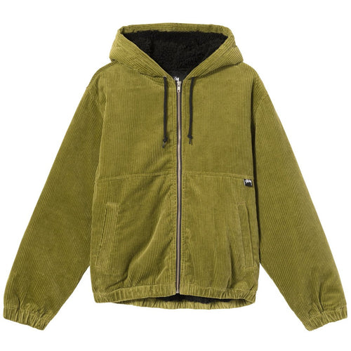 Stussy Wide Wale Work Jacket - Green