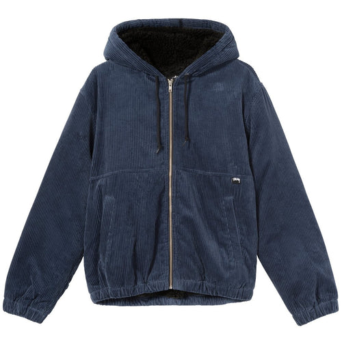Stussy Wide Wale Work Jacket - Navy