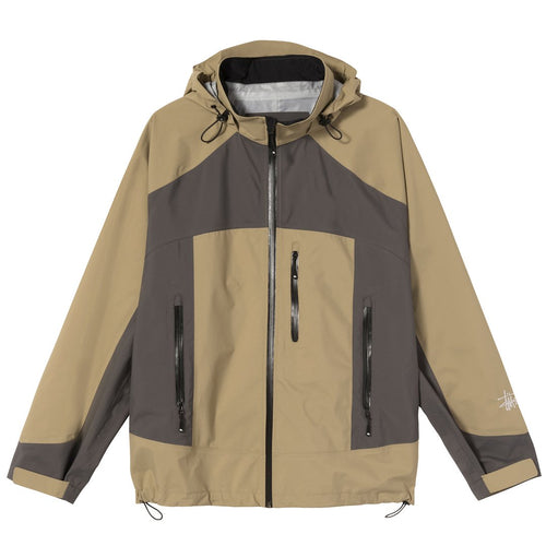 Stussy Taped Seam Rain Shell - Moss