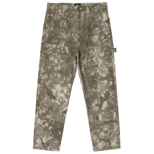Stussy Dyed Work Pant - Olive