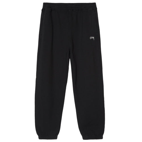 Stussy Stock Fleece Pant - Black