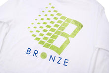 Load image into Gallery viewer, Bronze 56K B-Logo Tennis Longsleeve - White