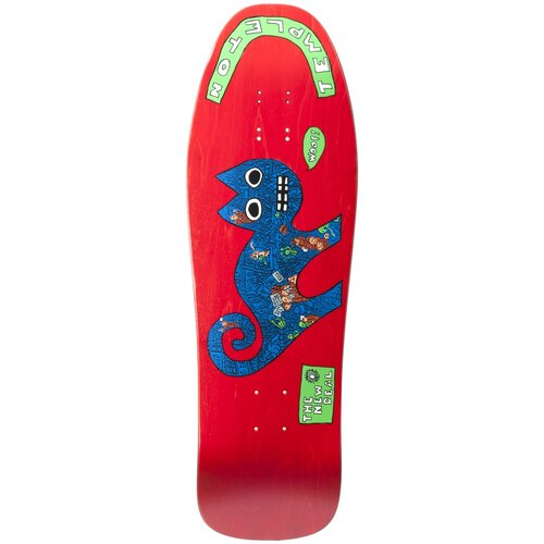 New Deal Ed Templeton Cat Deck Red - 9.75