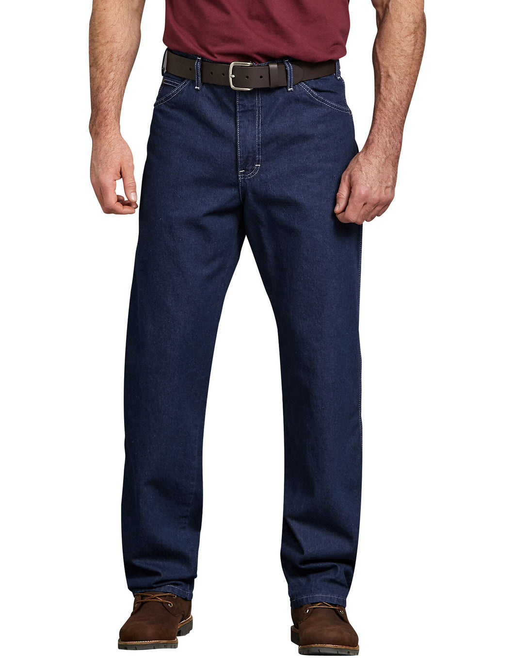 Dickies Relaxed Straight Fit Carpenter Rigid Indigo Blue