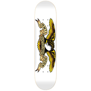 Antihero Classic Eagle Deck - 8.75 White