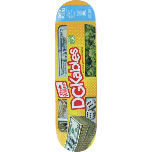 DGK Williams Ghetto Snacks Deck - 8.1