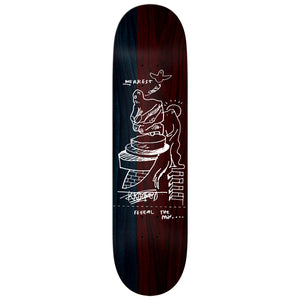 Krooked Worrest FTP Slick Deck - Twin Tail 8.3