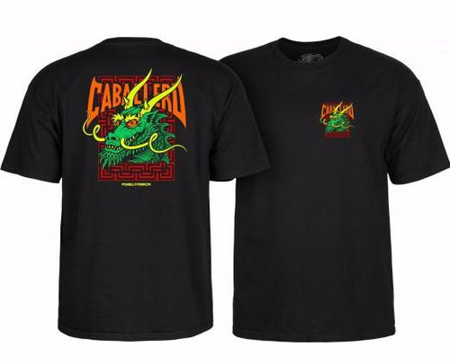 Powell Peralta Cab Street Dragon Tee - Black